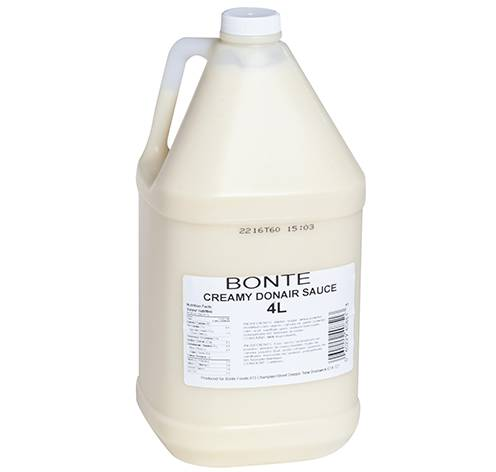 creamy sauce fixed weight 2x4.0 liter