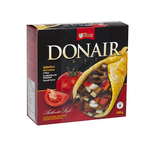 donair retail kit 12x550g