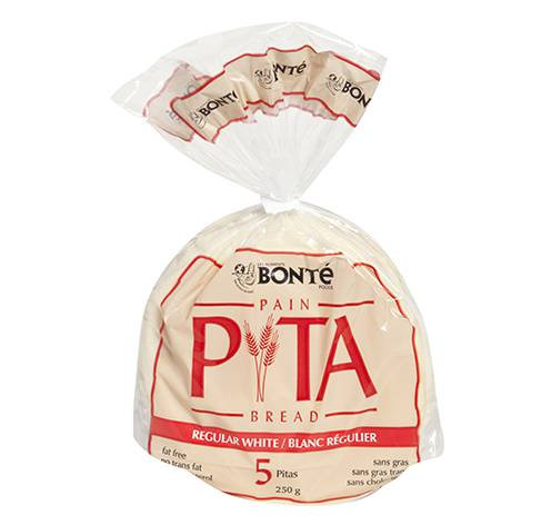 white pita bread fixed weight 24x250g