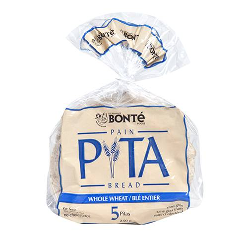 whole wheat pita bread fixed weight 24x250g