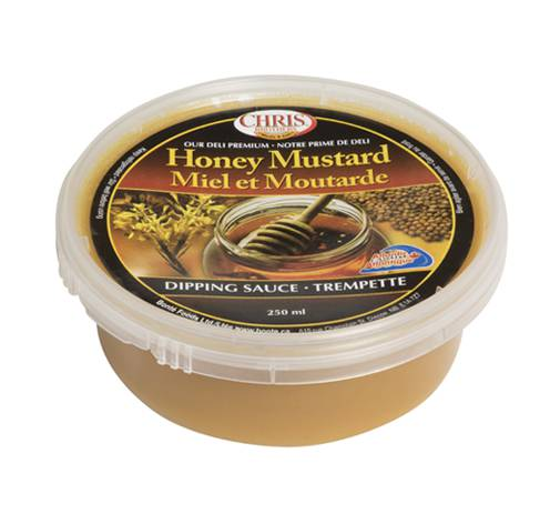 regular honey mustard sauce fixed weight 12x120ml tubs